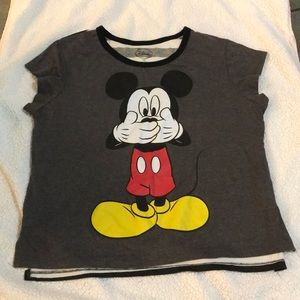 Mickey Mouse Disney t shirt size 11/12 juniors